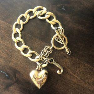 Juicy Couture Gold Charm Bracelet Authenticate
